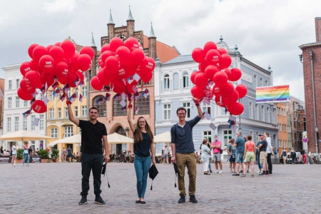 Die Absolventen 9999, 10.000 und 10.001.Foto Tobias Hieltscher