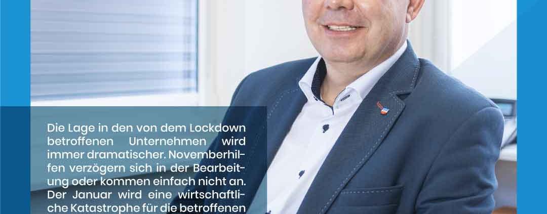 Stefan Suckow zu den aktuellen Corona Einschränkungen im Groß- und Einzelhandel