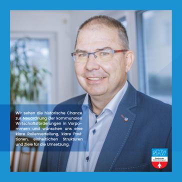 Debatte zur künftigen Ausrichtung der Wirtschaftsförderung in Vorpommern