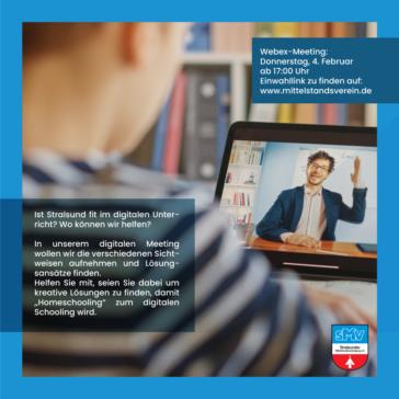 Ist Stralsund fit im digitalen Unterricht? Wo können wir helfen?